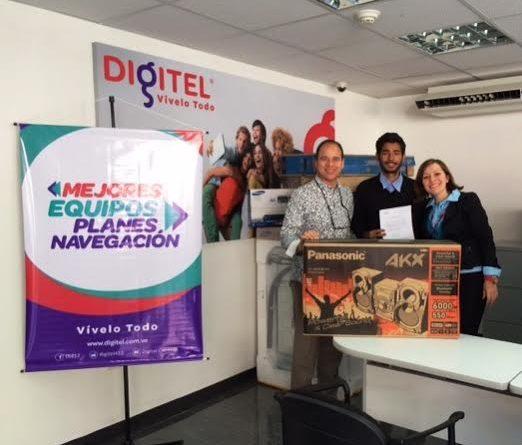 Víctor Gill Ramírez: Digitel entregó premios de la promoción Unidos Todos en un Solo Corazón